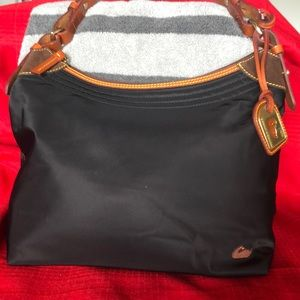 Dooney & Bourke black nylon bag